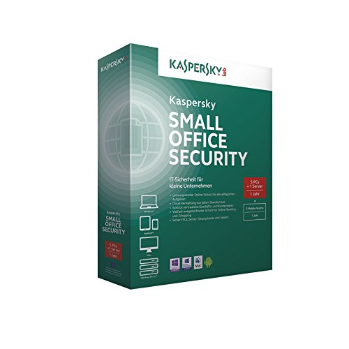 Kaspersky Small Office Security V4.0 Base 5 PCs + 1 Server