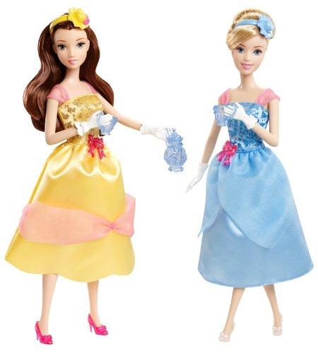 mattel-x9352-disney-princess-tea-time-cendrillon-belle-poupees