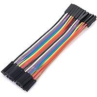 20pcs placa de pruebas de puente cables dupont hembra a hembra cable GPIO Ribbon Pi Arduino