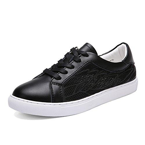 Petites chaussures blanches/Chaussures de sport air/Ladies blanc chaussures en été/Plat maille chaussures B