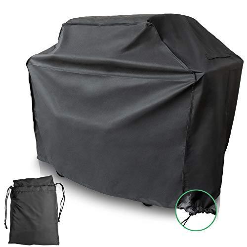 Coverup! copertura per barbecue impermeabile - premium coperchio griglia in materiale poliestere oxford 600d antistrappo - telo protettivo per bbq grill (140x65x115cm)