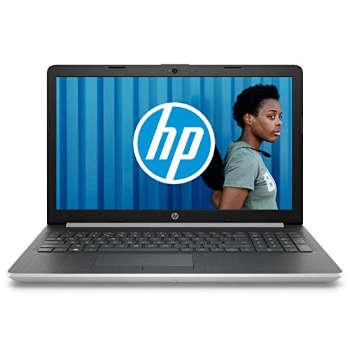 HP 15-da0101nf PC Portable 15' FHD Argent (Intel Core i5, 4 Go de RAM, 1 To, Nvidia GeForce MX110, Windows 10)