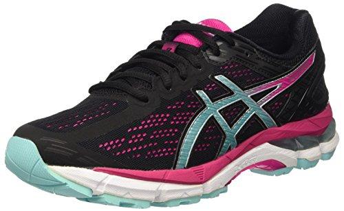 Asics Damen Gel-Pursue 3 Laufschuhe Mehrfarbig (Black/Aruba Blue/Sport Pink)