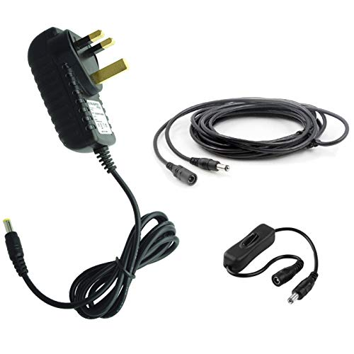 f3c7fc8b047c7 MyVolts 9V power supply adaptor compatible with Kenton Pro Solo MK I MIDI  interface - UK plug - Premium