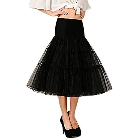 YIZYIF S-XL Tutu Falda Crinolina De La Enagua Vestido De Boda Vestidos De Fiesta Vestidos De Coctel Para Las Mujeres Señoras