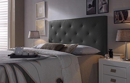 Marckonfort - Rombo Kopfteil für Bett, 160 X 60 X 8 CM Farbe schwarz