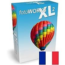 FotoWorks XL (2017) - Logiciel Photo, Photo editor pour modifier photo, editeur photos, traitement photo, logiciel retouche photo, photo montage - Très facile à utiliser