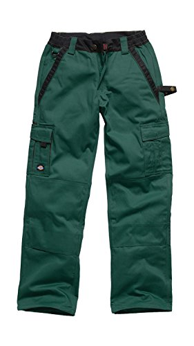 DICKIES Industry 300 Bundhose Arbeitshose - diverse Farben Green/Black