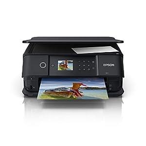 Epson Expression Premium XP-6100 Print/Scan/Copy Wi-Fi Printer, Black, Amazon Dash Replenishment Ready