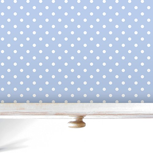Light Blue Wipe Clean Polka Dot Drawer Amp Shelf Liners 5 Sheets Made In Suffolk England Buy Online In India At Desertcart In Productid 64902348