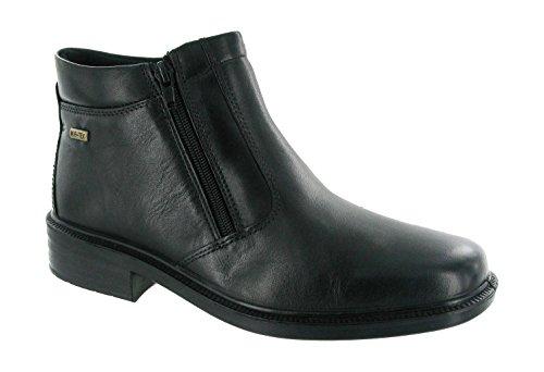 Cotswold Mens Kelmscott Leather Waterproof Chelsea Dealer Boot Black Black