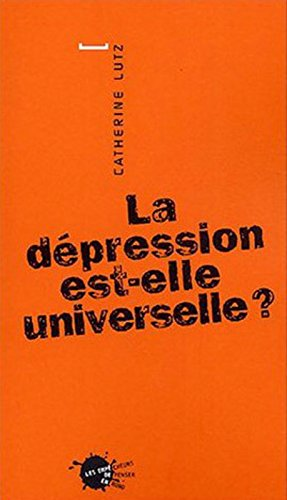 La Dépression est-elle universelle ?