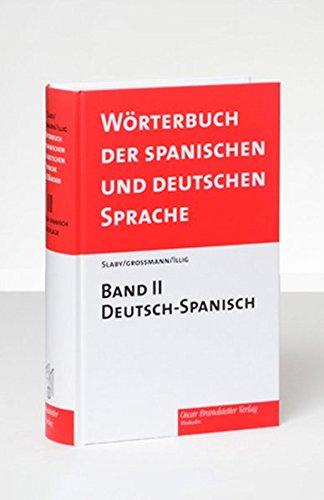 Diccionario de las Lenguas Española y Alemana / Wörterbuch der spanischen und deutschen Sprache, Bd. 2