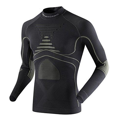 X-Bionic, Maglia intima sportiva Uomo, Nero (Charcoal/Pearl Grey),