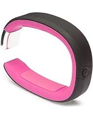 Milestone Gravitate Aktivitäts- und Schlaf-Tracker Bluetooth Wireless Wasserfest Kompatibel mit iPhone 5/5S/5C/6/6 Plus, Samsung Galaxy S3/S4/S5, Note 2/3, HTC One/One X