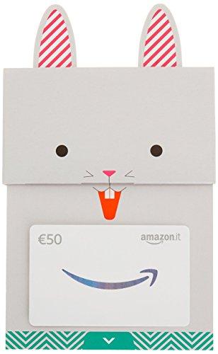 Buono regalo amazon.it - €50 (busta coniglietto felice)