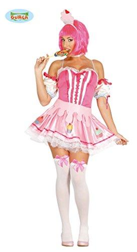 Kostüme Cupcake Halloween Geburtstag (Cup Cake Muffin - Kostüm für Damen Gr. M,)