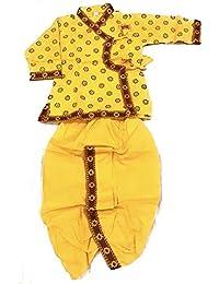 Anchal Collection Dhoti Kurta for Kids 100% Cotton 1-4 Years Boys Summer Dress