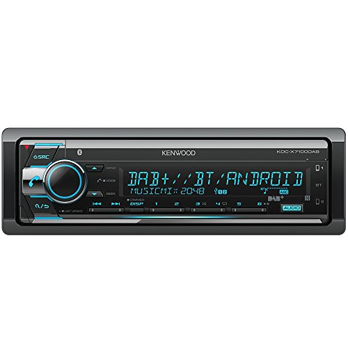 Bluetooth Kenwood (Kenwood KDC-X7100DAB Digitalautoradio mit Bluetooth-Freisprecheinrichtung und Apple iPod-Steuerung schwarz)