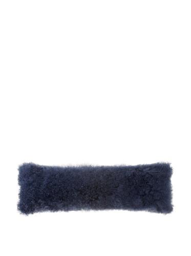 Mongolisches Kissen Fall Lange Boudoir 33x 101,6cm Marineblau -