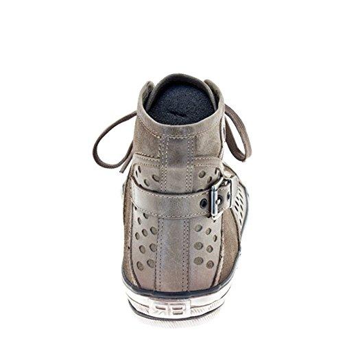 ROBERTO BOTELLA - <p>    Sneakers en cuir   </p>    Beige