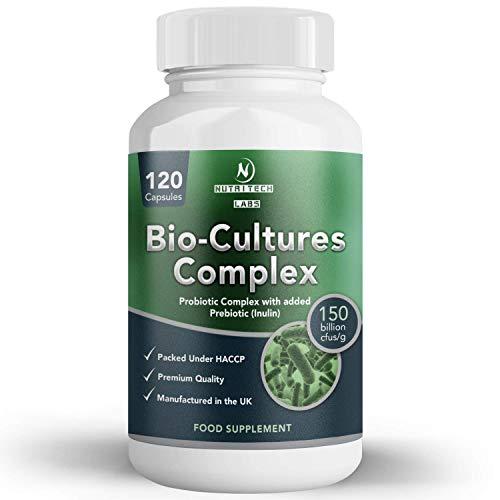 Prebiotics y Probiotics - alta resistencia(150 mil millones cfu) - Probioticos...