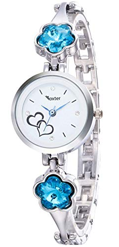 Foxter Bangel Analog White Dial Women's Watch