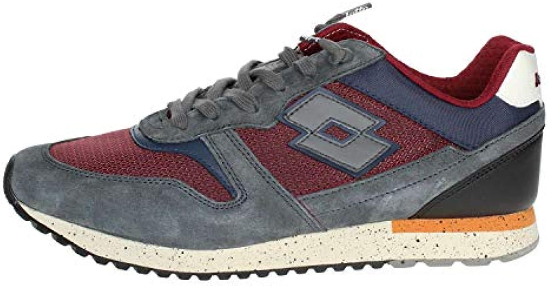 Lotto Leggenda T7397 scarpe scarpe scarpe da ginnastica Uomo Rosso 45 | Funzionalità eccellenti  | Uomo/Donne Scarpa  9dde54