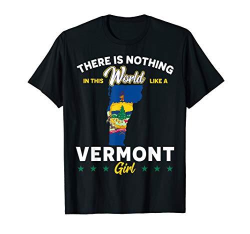 Proud Vermont Girls T-Shirt -