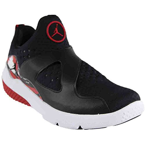 Nike Mens Trainer Essential Textile Trainers Black/Black-white-gym Red