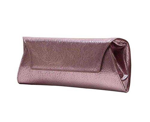 Borsa Pochette In Pelle Banchetti Nuove Donne Di Modo Pink