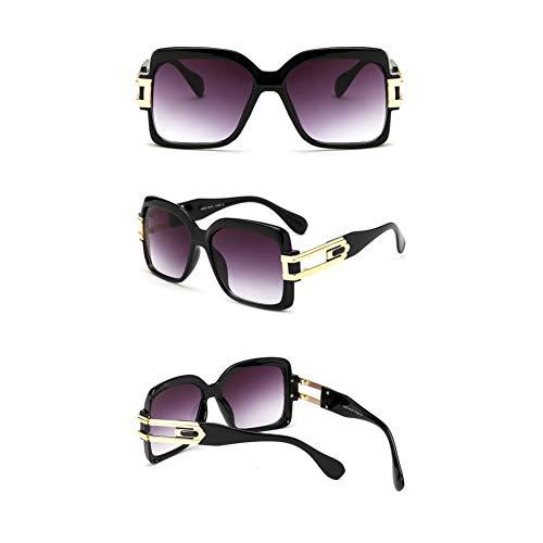 SKCLBOOS Sonnenbrillen Neue übergroßen quadratischen Sonnenbrille Frauen Mode Marke Shades uv400 Schutz Sonnenbrille für männer 2019 Retro oculos