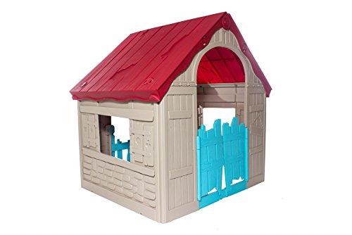 KETER Garden Outdoor Fun Indoor Kids Wonderfold Childrens Folding Playhouse