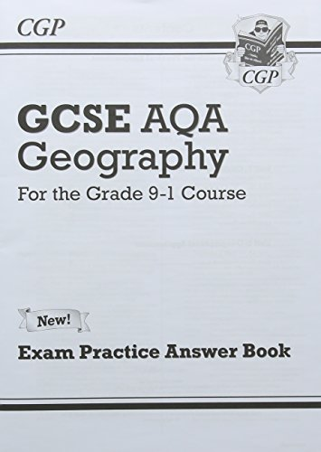 New Grade 9-1 GCSE Geography AQA Answers (for Workbook) (CGP GCSE Geography 9-1 Revision)