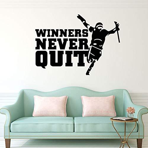 Gewinner nie aufhören Wand Zitat Aufkleber Aufkleber Wand Kunst Wand Dekor Poster kreative Inspiration sagen Wand Applique (Gewinner Nur Möbel)