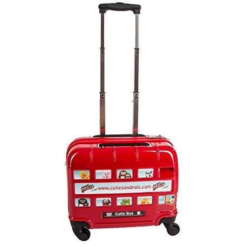 Cuties and Pals valise enfant, sac à dos enfant (valise, bus londonien London)