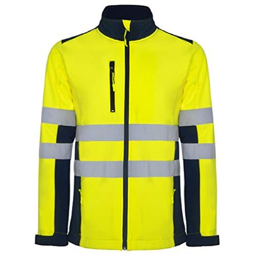 Roly giacca softshell alta visibilità (s)