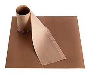 Bake-O-Glide Square and Frilled Wall Liner, Brown, 225 mm/9-Inch