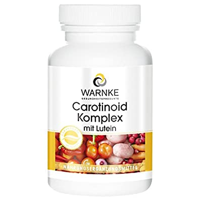 Warnke Health Products Carotenoid complex with lutein, beta-carotene and lycopene, vegan, 100 capsules by Warnke Gesundheitsprodukte GmbH & Co. KG
