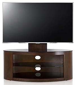 avf fsl1000bucw buckingham walnut tv stand with mount electronics. Black Bedroom Furniture Sets. Home Design Ideas
