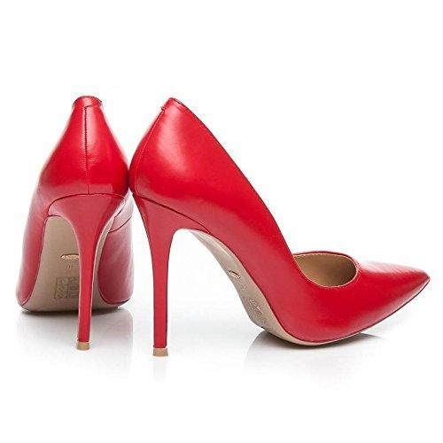 Schuhzoo , Hi-Top Slippers femme Rouge