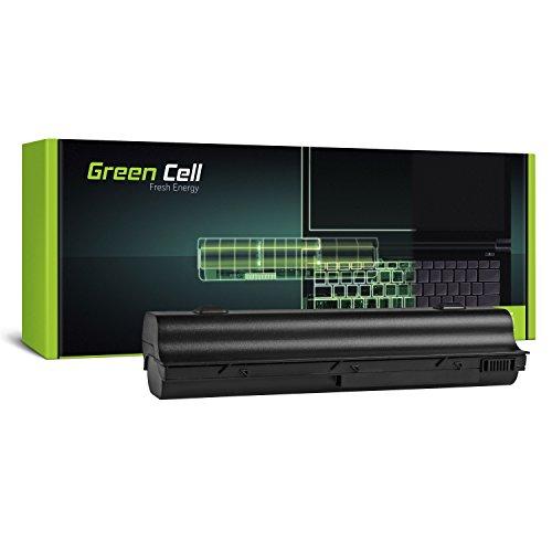 Green Cell Extended Serie HSTNN-DB17 HSTNN-IB09 HSTNN-OB17 Laptop Akku für HP G3000 G5000 Pavilion DV1000 DV4000 DV5000 (12 Zellen 8800mAh 10.8V Schwarz) -