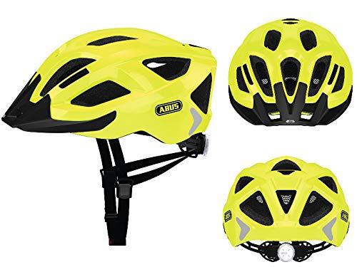 Abus Aduro 2.0 Helmet neon Yellow Kopfumfang M | 54-58cm 2019 Fahrradhelm