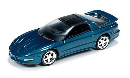 pontiac-firebird-t-a-metallic-grn-matt-black-1993-model-car-ready-made-car-world-164-by-pontiac