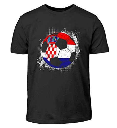Kroatien Fußball WM Trikot - Kroatien/Fußball Trikot/Nationalmannschaft/Geschenk WM - Kinder T-Shirt