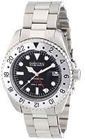 Nautec No Limit Deep Sea - Reloj analógico de caballero automático con correa de acero inoxidable plateada de Nautec No Limit