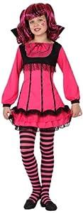 Atosa-15001 halloween Disfraz Vampiresa, color fucsia, 10 a 12 años (15001)
