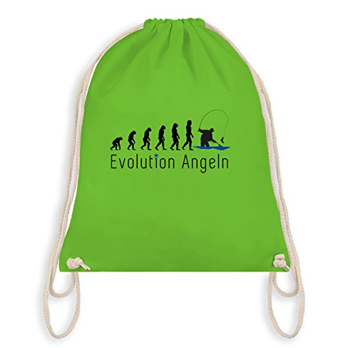 Evolution - Angeln Evolution - Turnbeutel I Gym Bag Hellgrün