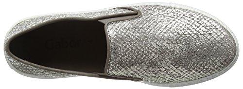 Gabor Identify, Sneakers Basses femme Marron - Brown (Brown Snake Glitter)