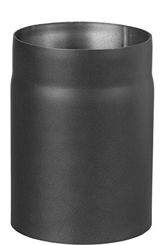 Darco Jeu de WC rp130/0, de 25 CZ2 Senotherm Tuyau 2 mm UHT 600 verni, diamètre 130 mm, longueur 25 cm, noir